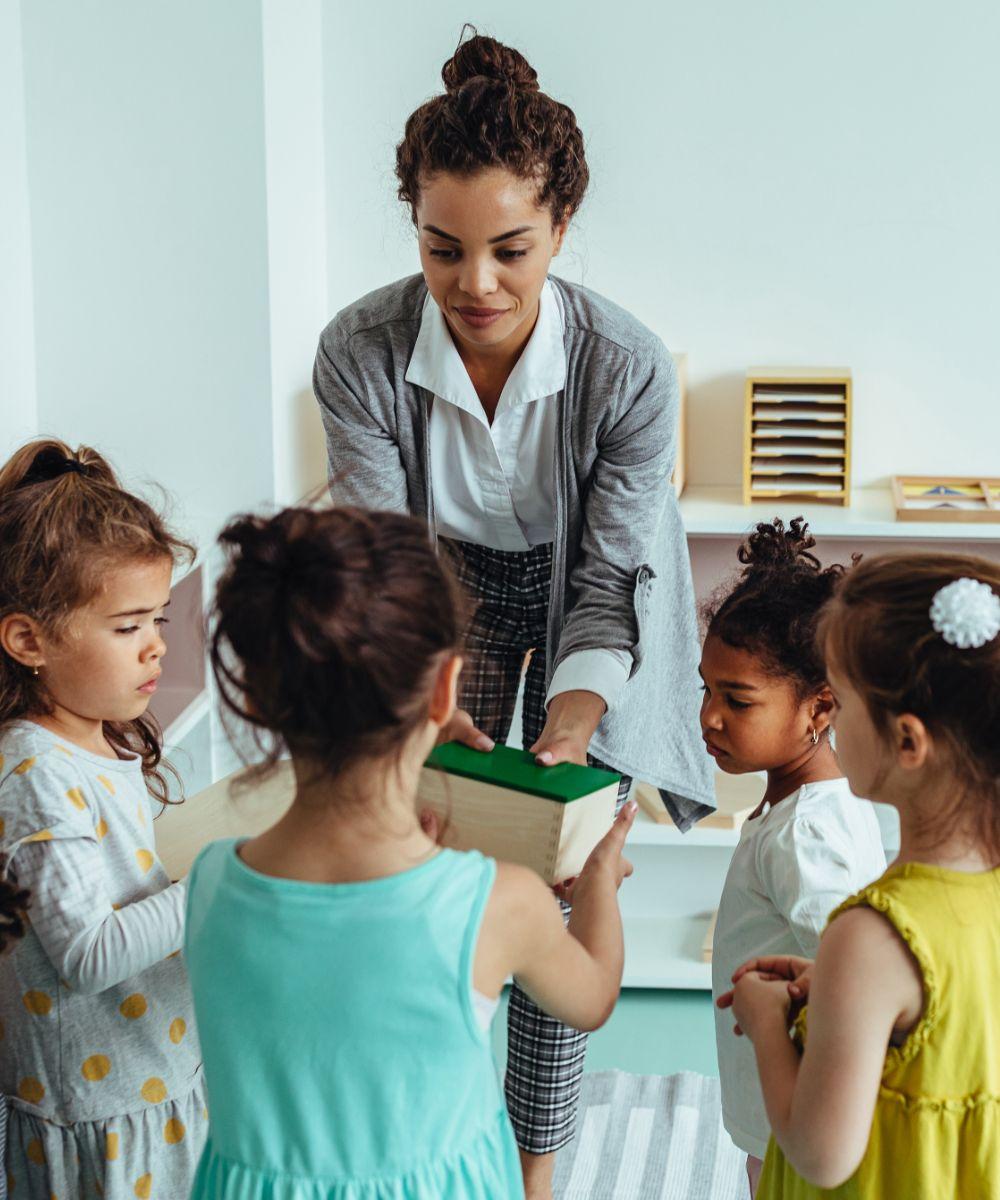 Fun time at kindergartner
