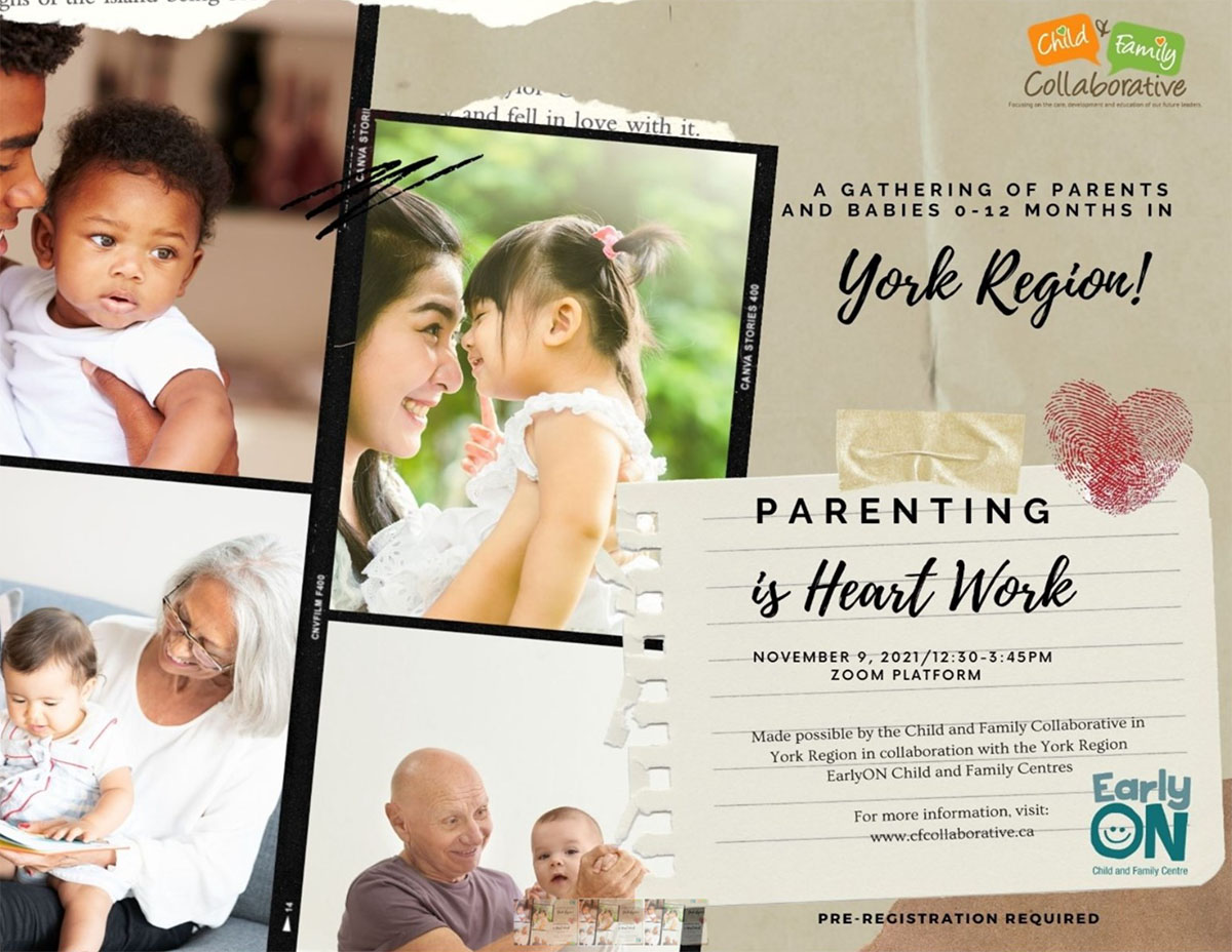 Parenting is Heart Work Conference 2021 Save the Date Flyer